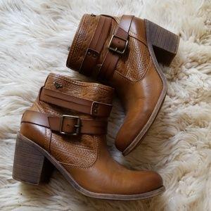 Roxy Leather Booties